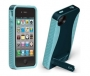 Pop! 2 Case for Apple iPhone 4/ iPhone 4S - Navy/Aqua