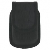 Black Nite Ize Heavy Duty Nylon Pouch Case With Rotating Flex Cl