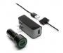 Griffin PowerDuo Travel, Car, & USB Charging Kit