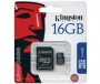 Kingston Technology - 16GB MicroSD