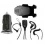Sonim Wired Headset + Sonim USB Car charger Bundle
