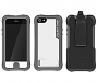 Ballistic - Every1 Case for Apple iPhone 5 in White/Gray