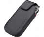 Blackberry Black Leather Pocket Case (No Belt Clip)