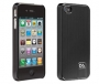 Case-Mate - Barely There Brushed Aluminum Case iPhone 5 Black