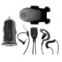 Sonim Wired Headset   Sonim USB Car charger Bundle