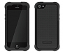 Ballistic - Shell Gel Case for Apple iPhone 5 in Black/Black