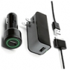 Griffin PowerDuo Travel, Car, & USB Charging Kit