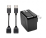Kensington - AbsolutePower 4.2A Dual USB Wall Charger w/ Adapt