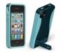Pop! 2 Case for Apple iPhone 4/ iPhone 4S - Navy/Aqua